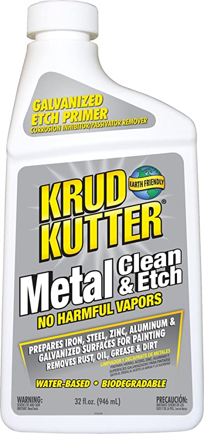 Amazon Com Krud Kutter Me326 Metal Clean And Etch 32 Oz Bottle