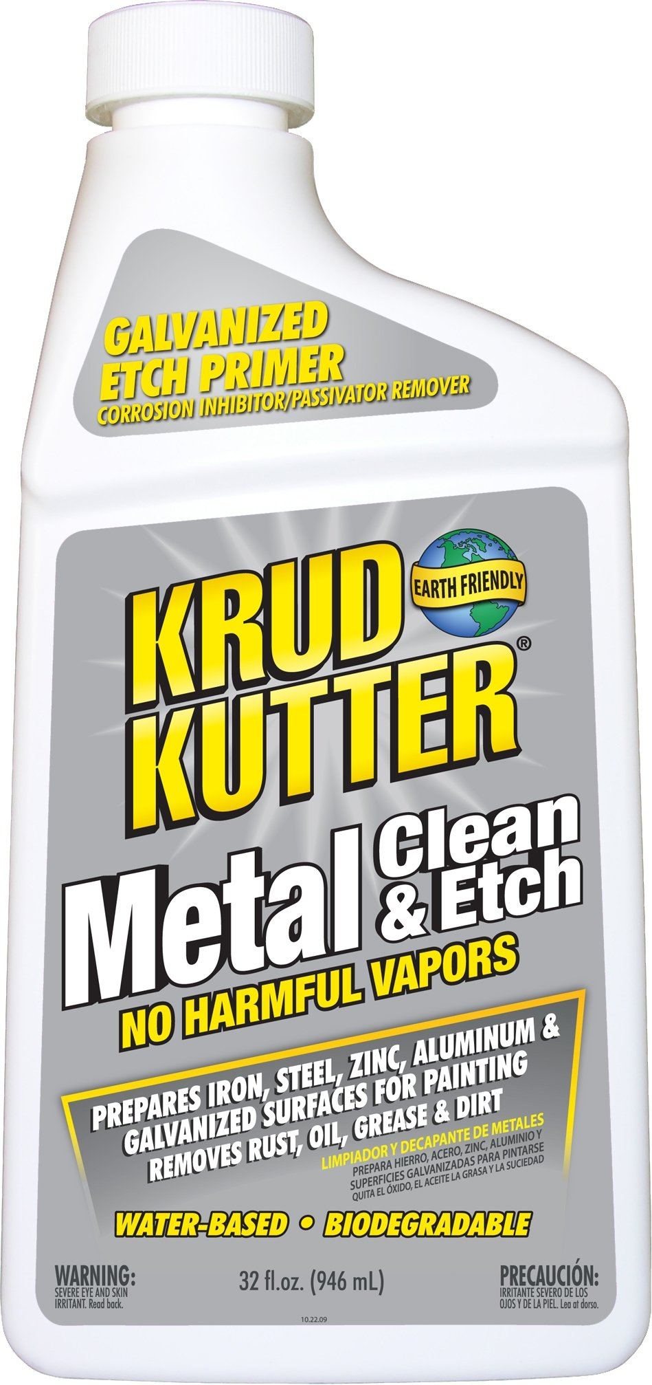 Krud Kutter ME32 Metal Clean and Etch, 32-Ounce