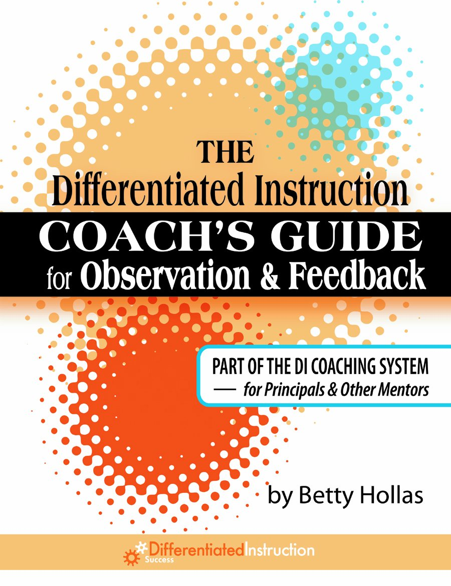 Download The Differentiated Instruction Coach's Guide for Observation & Feedback PDF