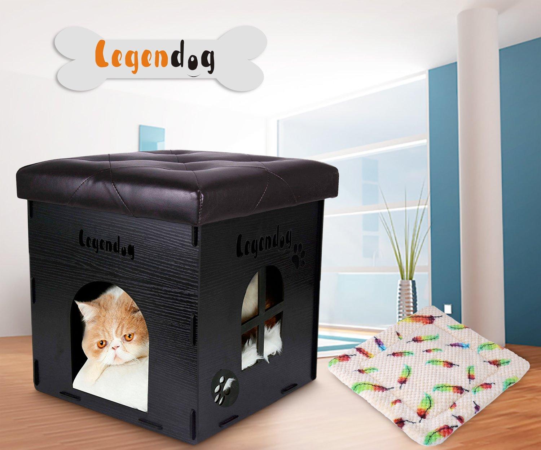 Legendog legendog legendog animale domestico casa di legno piccolo