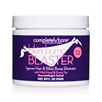 Completely Bare Bikini Bump Blaster Pads- All Natural Antioxidants, Witch Hazel...