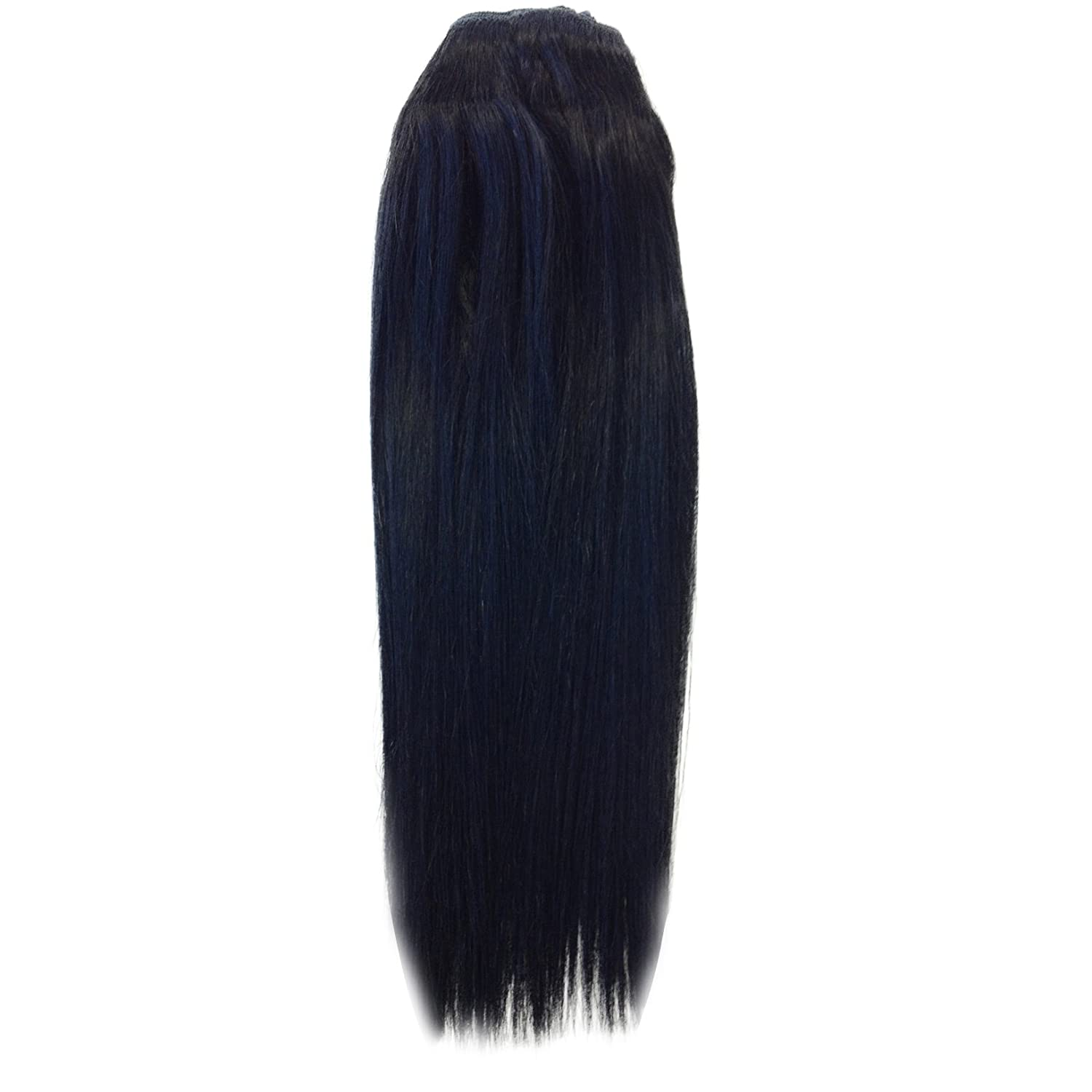 Amazon Diy Hair Extensions Jet Black 1 20 Inch Long