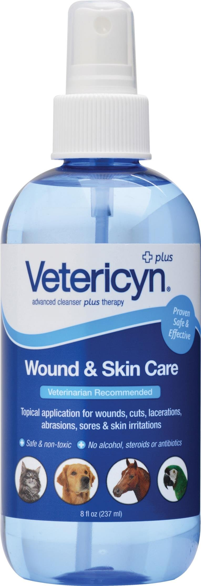 VETERICYN ALL ANIMAL WOUND & SKIN CARE - 8 OUNCE PUMP
