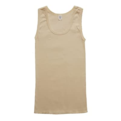 Alpha Mills Women's Tank With Scallop Trim (Pack of 3)