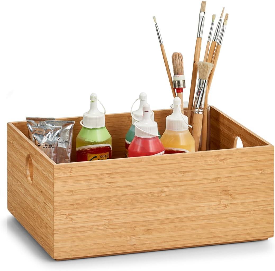 Zeller Storage Box Bamboo