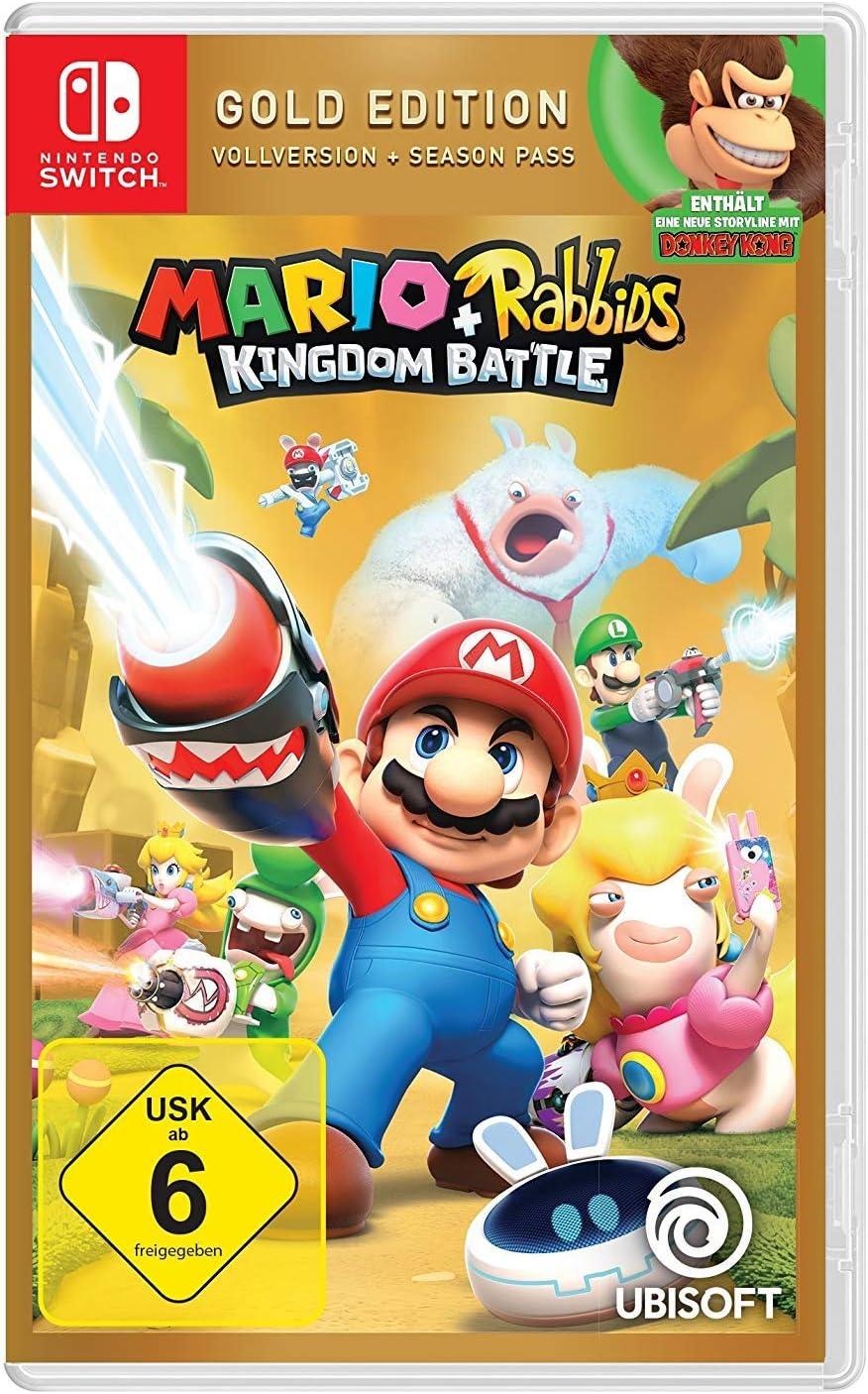 Mario & Rabbids Kingdom Battle - Gold Edition - Nintendo Switch [Importación alemana]