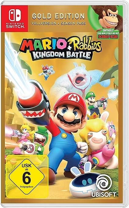 Mario & Rabbids Kingdom Battle - Gold Edition - Nintendo Switch [Importación alemana]: Amazon.es: Videojuegos