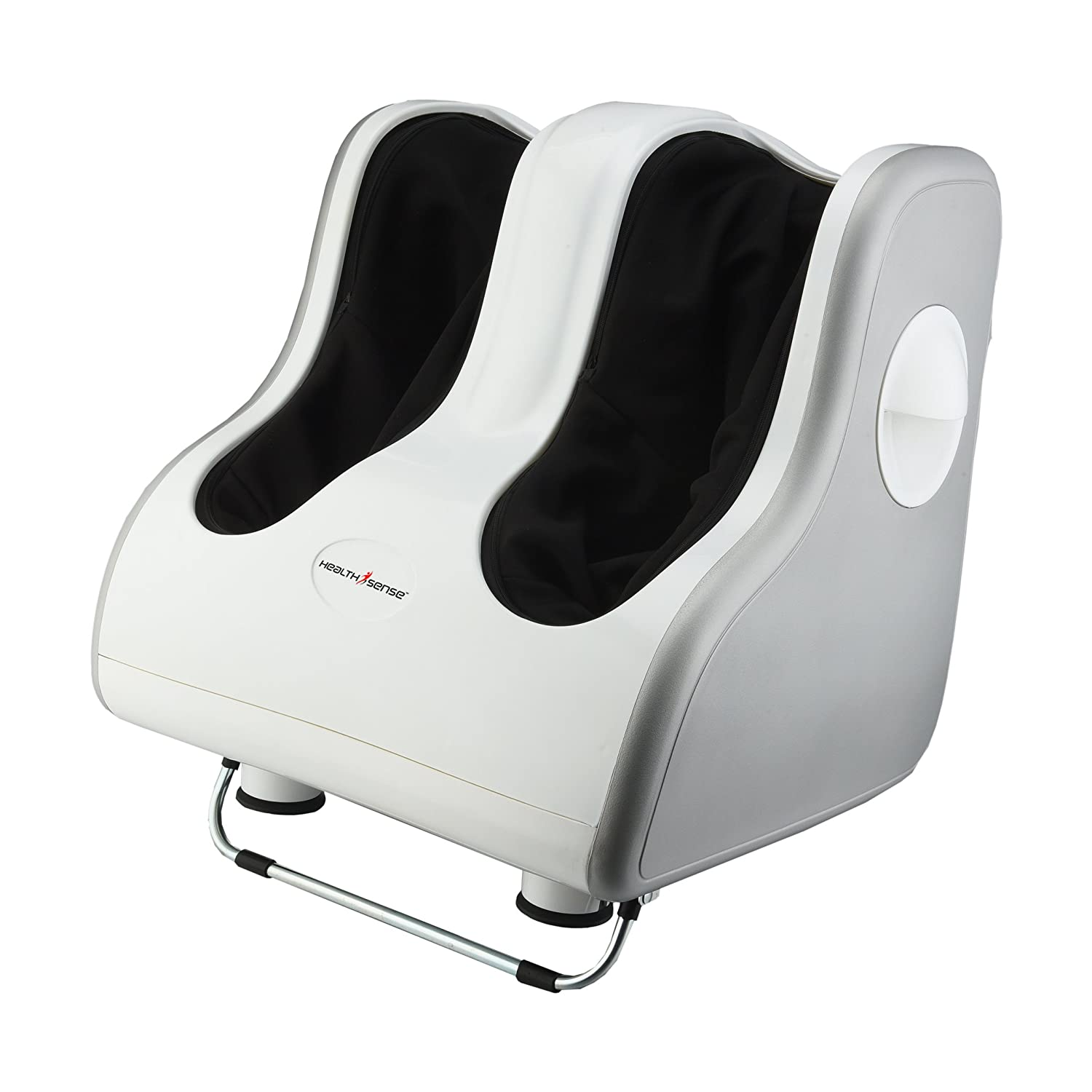 Healthsense LM 350 Leg And Foot Massager (White/Silver)