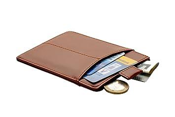 Leder Kreditkartenetui Für Herren Elegantes Portemonnaie