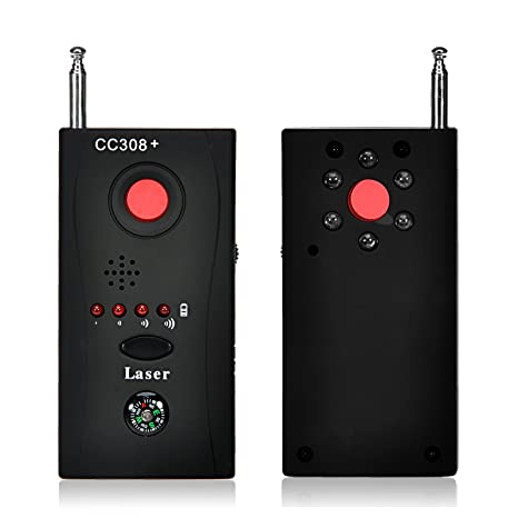 GIZGA® CC308 + frecuencia inalámbrica anti-espía señal RF Bug Detector Oculta cámara GSM