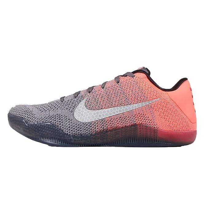 another chance 69c39 5de57 Amazon.com   Nike Mens Kobe XI Elite Low, EASTER-DARK GREY VLT-BRIGHT MANGO-COURT  PURPLE, 11.5 M US   Basketball