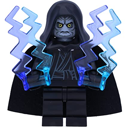Lego Emperor Palpatine Head Hood from set 75093 for Star Wars Minifigure NEW