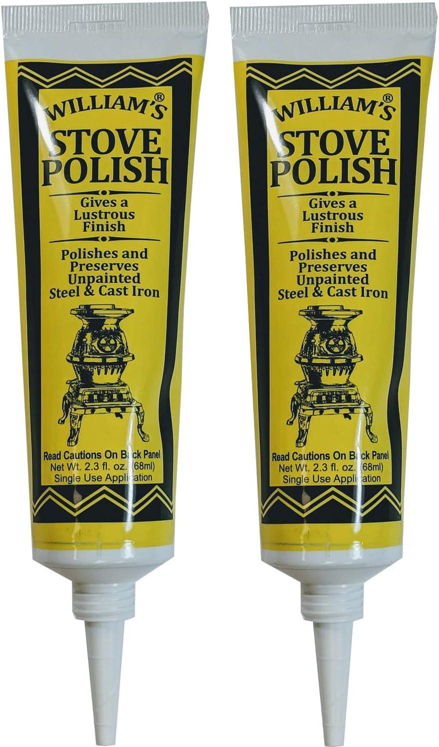 Amazon Com Williams Black Wood Stove Polish Paste For Cast Iron
