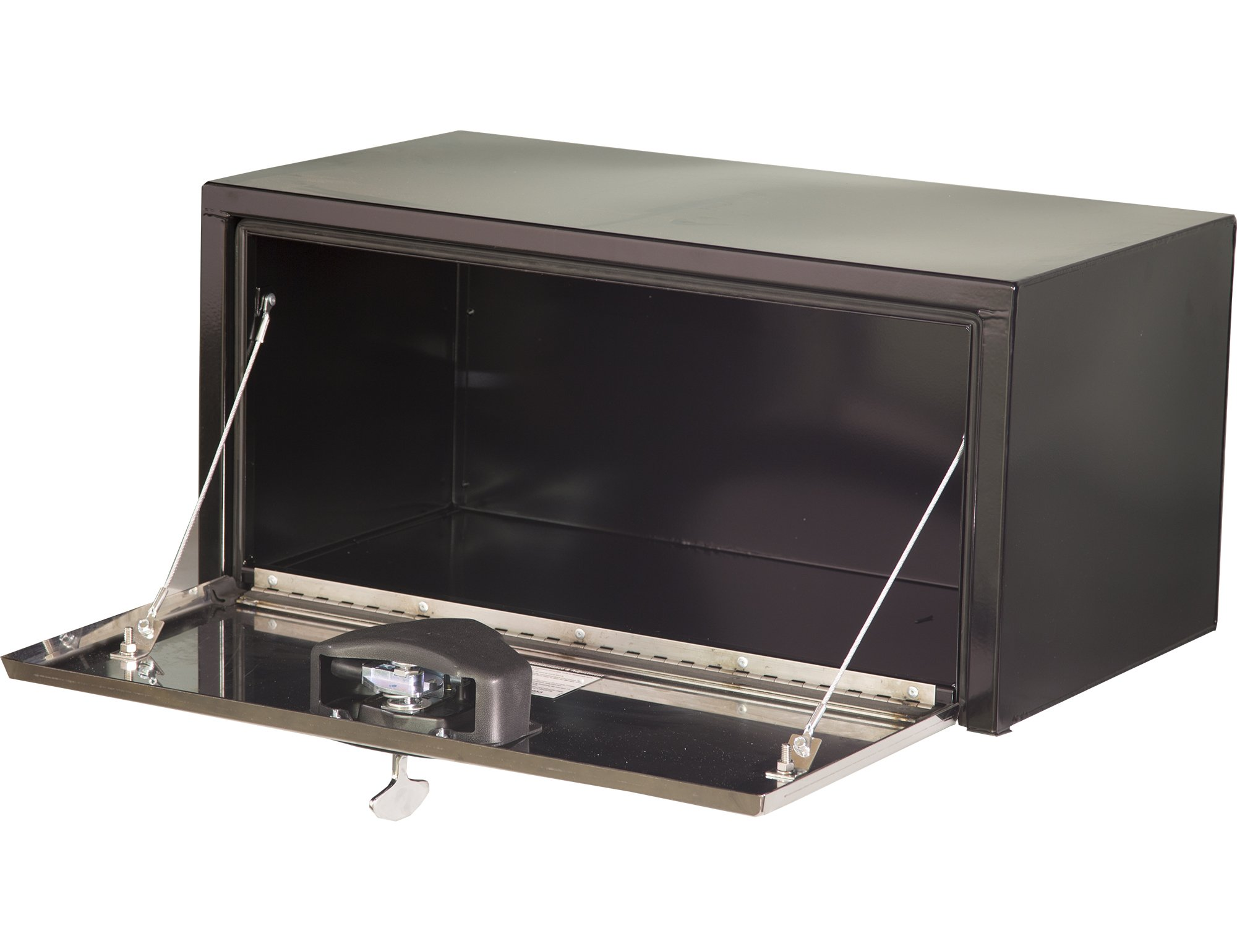Buyers Products Black Steel Underbody Truck Box w/Stainless Steel Door (24x24x36 Inch) by Buyers Products (Image #2)