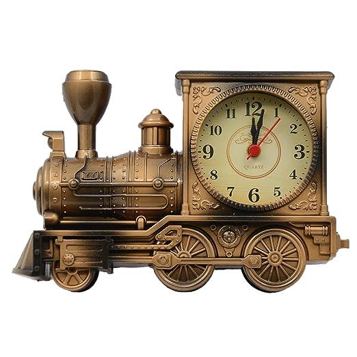 Vintage Retro Tren Estilo Estudiantes Alarma Reloj Mesa Escritorio ...