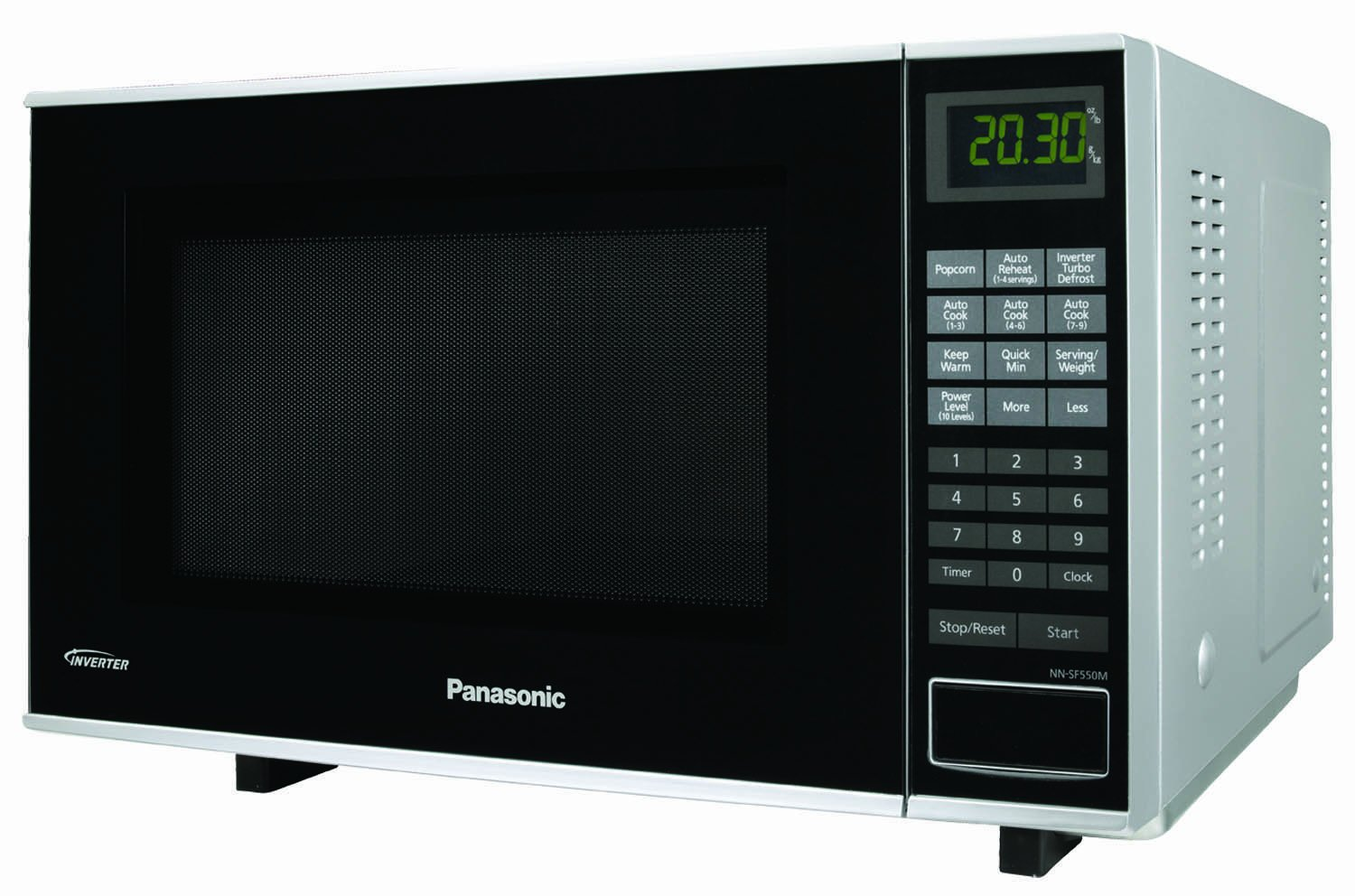 Panasonic NN-SF550M, Plata, 12020 g: Amazon.es: Hogar