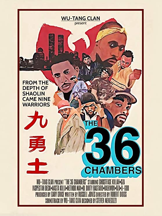 The Wu-Tang Brand Cartoon Poster 24 x 36