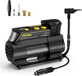 Autlead 80 PSI 12V Portable Digital Tire Inflator