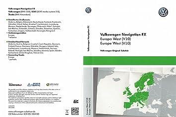 VW RNS 310 Navi Update SD Card V10 Western Europe