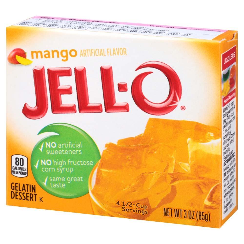Jell-O Mango Gelatin Mix 3 Ounce Box by Jell-O (Image #2)