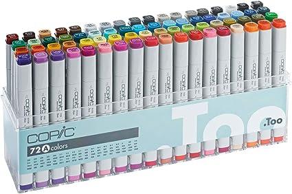 COPIC CZ20075160 - Rotulador permanente multicolor: Amazon.es: Oficina y papelería