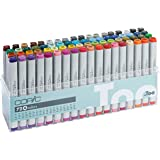 Copic Marker C72A Classic 72 Color Marker Sketch Set; Preferred for Architectural Design, Product Rendering, and Other…