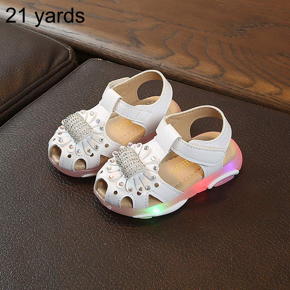 Kids LED Glowing Sandals Girls