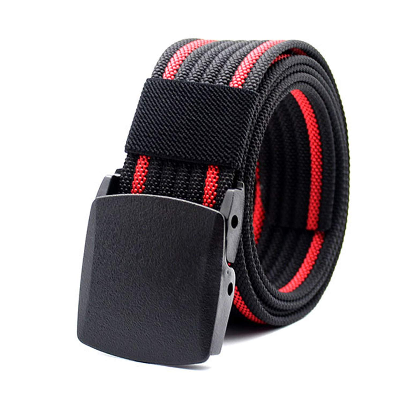 Men Tactical Belt Military Army Nylon Belts Combat Equipment Male Plastic Buckle