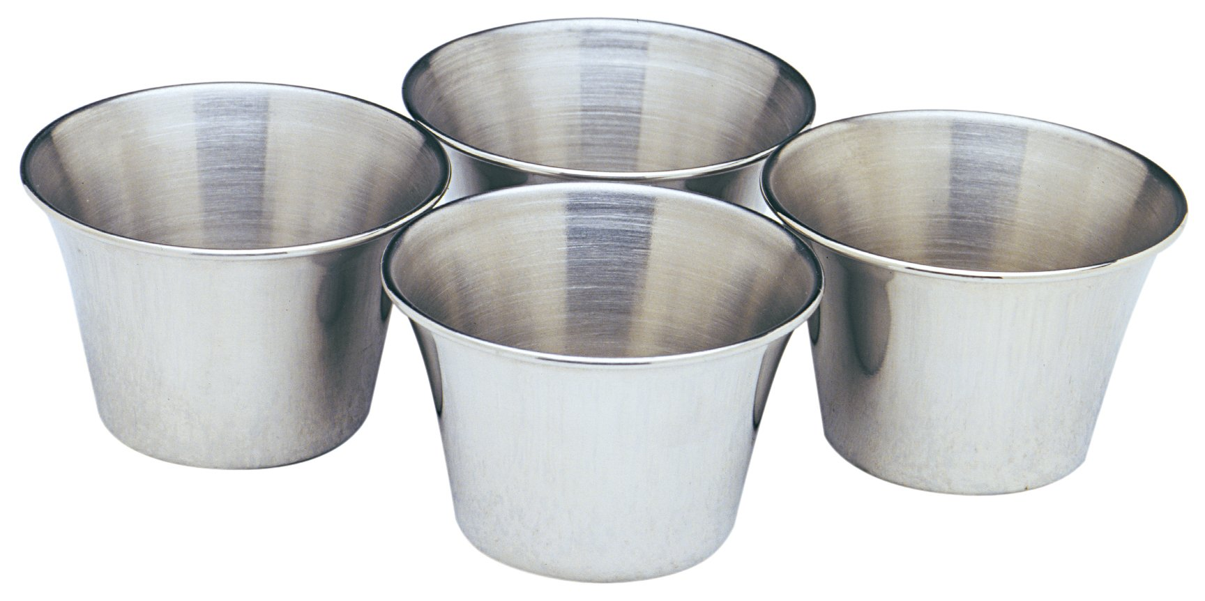 Norpro Stainless Steel Sauce Cups, Set of 4