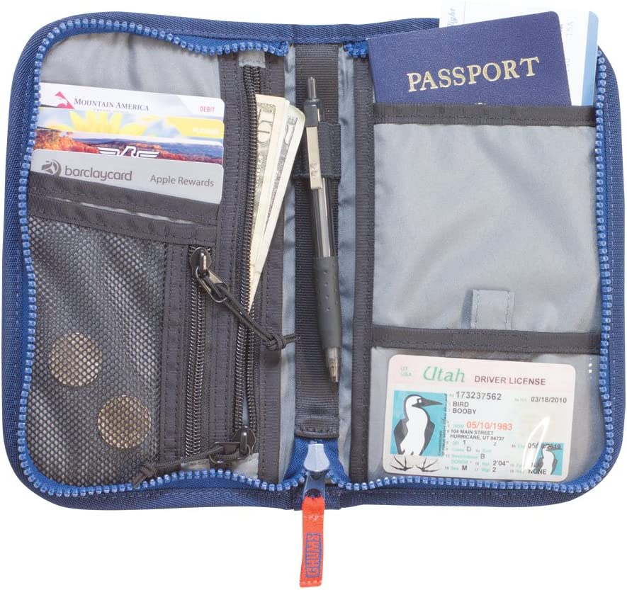 Chums Passport Case//Travel Phone Wallet with Zipper