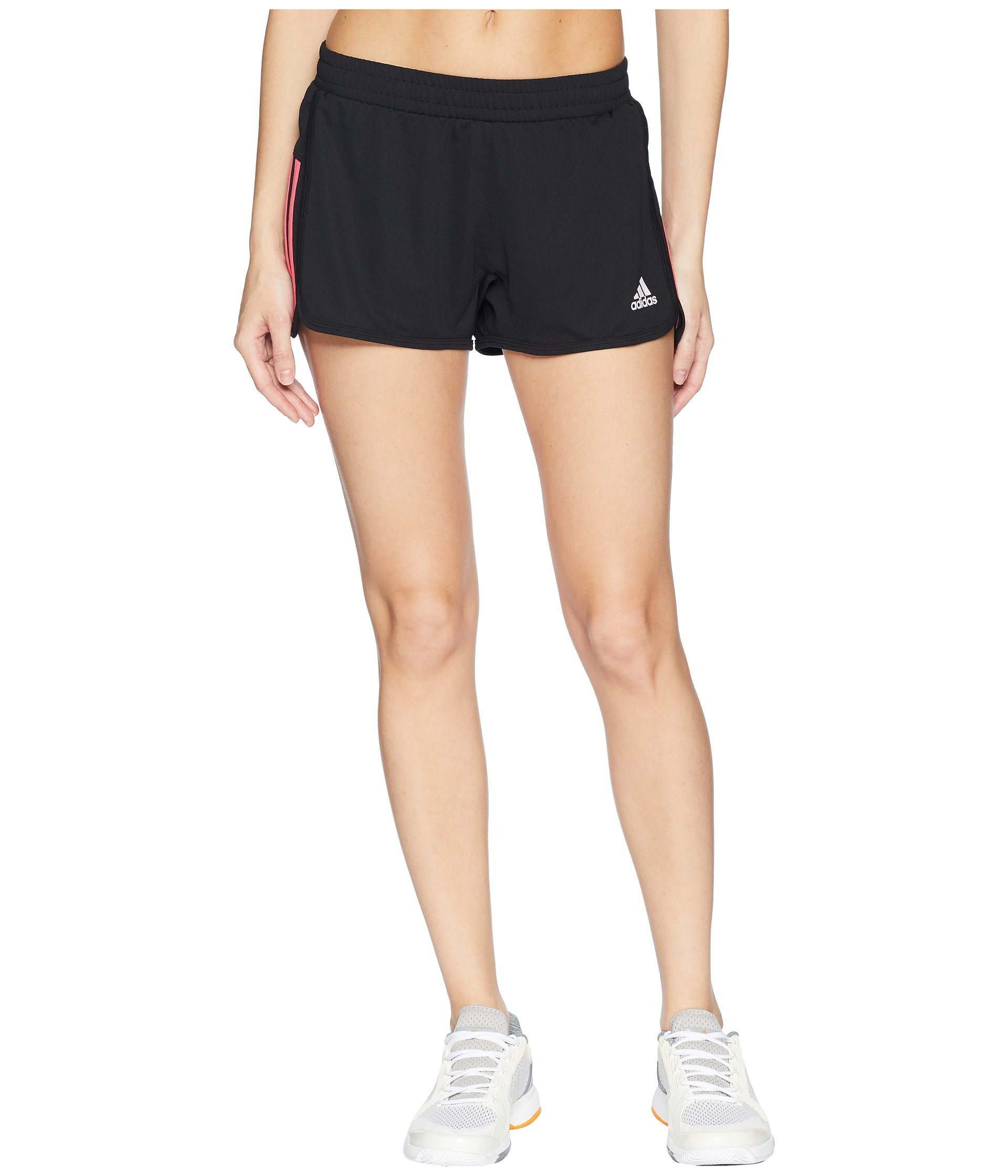 adidas Women's D2m Knit Shorts Real Pink X-Large 3