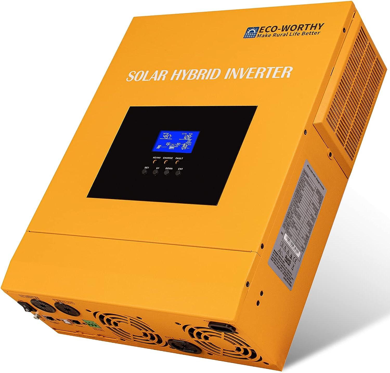 3500W Solar Wechselrichter MPPT 100A Laderegler 24V 220V Solar Inverter Mit Wifi