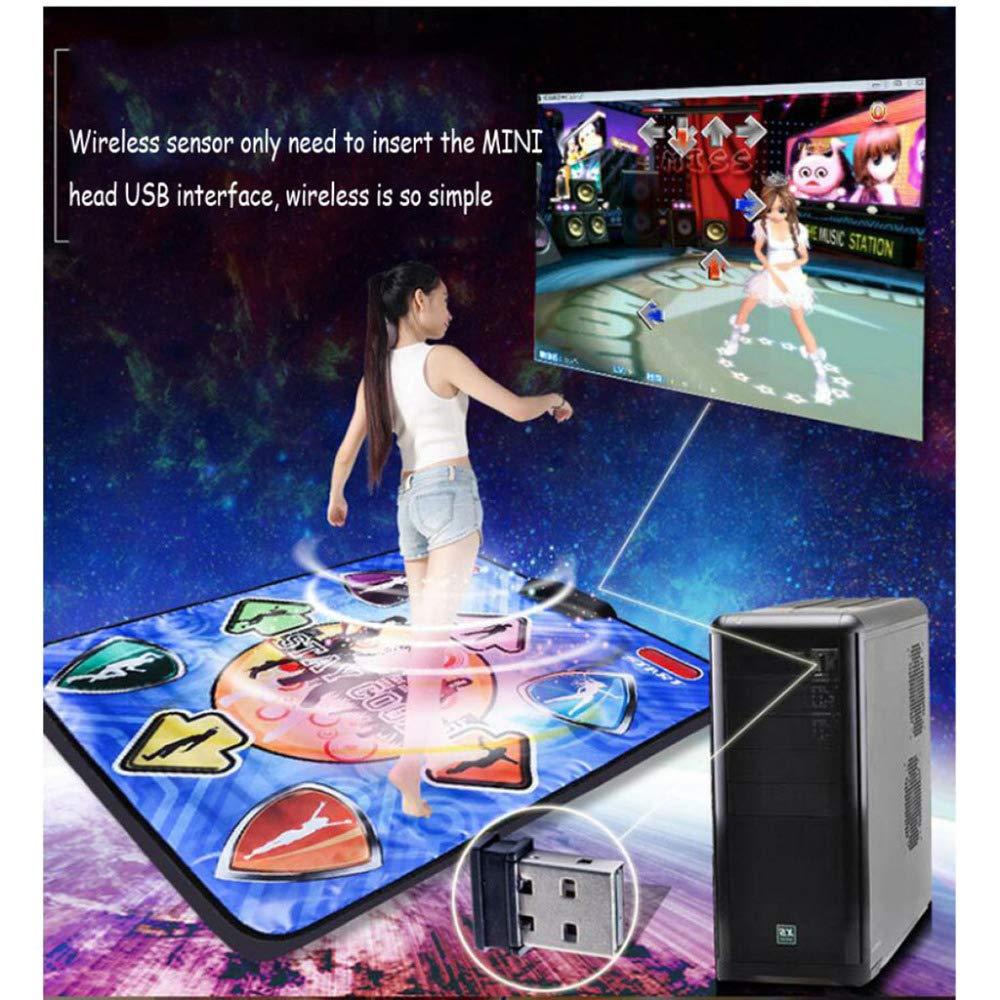 QXMEI Dance Blanket Wireless Induction Yoga Single Aerobics Dance Machine 9381 cm,B by QXMEI (Image #2)