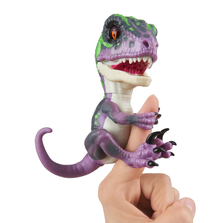 Wow Wee Untamed - Dinosauro Velociraptor, per Dita Jazwares 3782