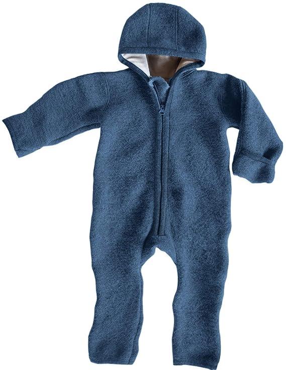 Ehrenkind® Made in Germany WALKOVERALL   Baby Wollwalk-Overalls aus Bio Natur Schurwolle mit Reißverschluss   Walk Wolle Woll