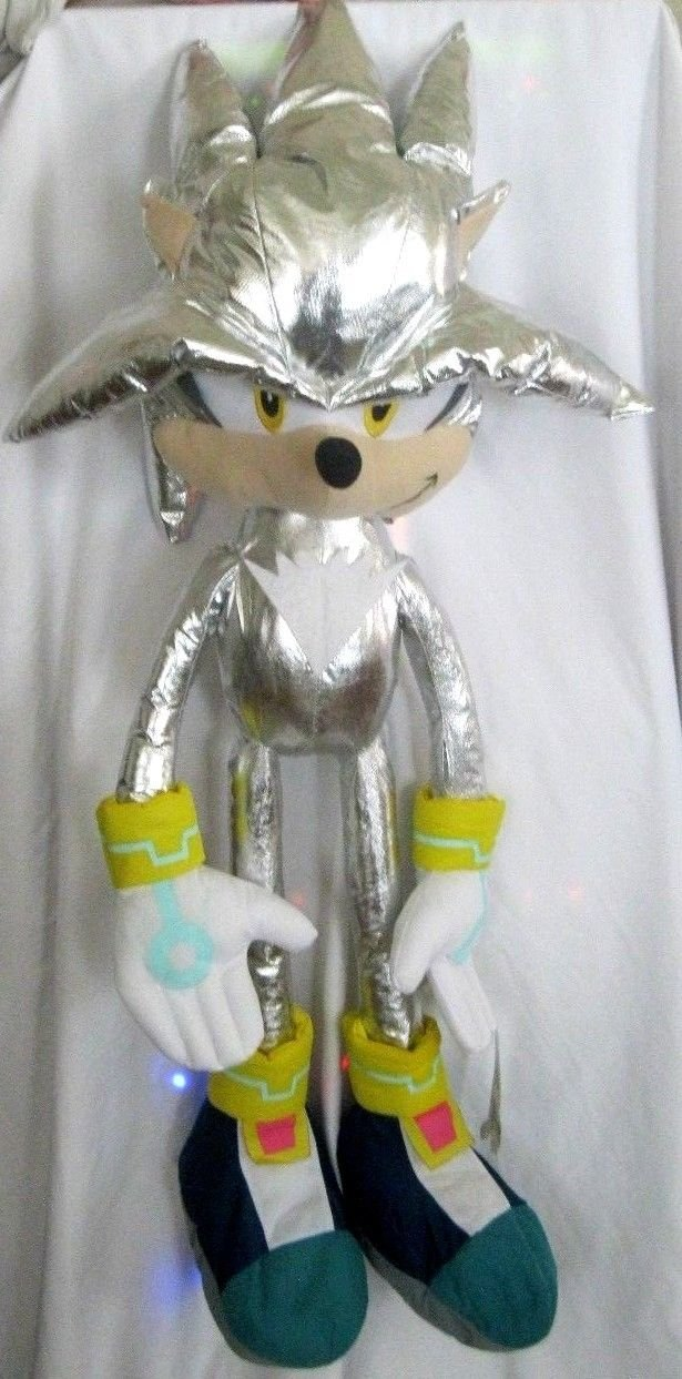 Granny's Best Deals (C) Fandom Silver Sonic The HedgeHog 45'' Plush Novelty Doll-Brand New with Tags! by Granny's/Toy Factory