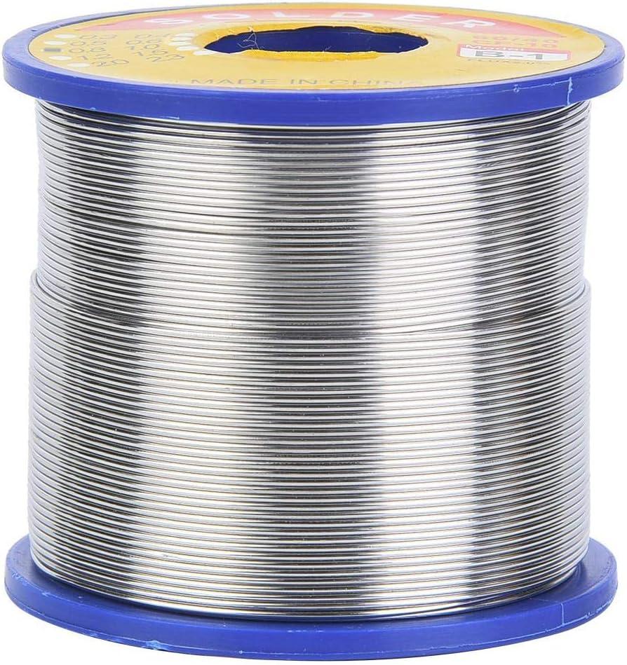 Soldadura de alambre de esta/ño 2/% de flujo de alambre de esta/ño 60//40 Carrete de soldadura de alambre de alta calidad Rosin Core 0.6~1 mm 0.6mm