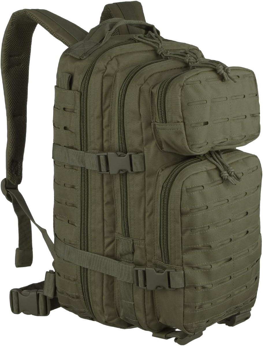 Backpack Mil Tec US Assault 20 L Laser Cut Green Oliv