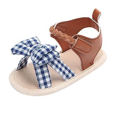 a638ada55363c Voberry® Enfants Été Bébé Sandales Chaussures Filles Casual Chaussures  Sneaker Anti-Dérapant Semelle Souple