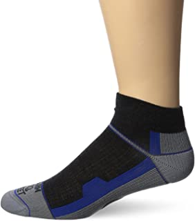 product image for Farm to Feet Men's Asheville Lightweight 1/4 Crew Socks, Charcoal, Large