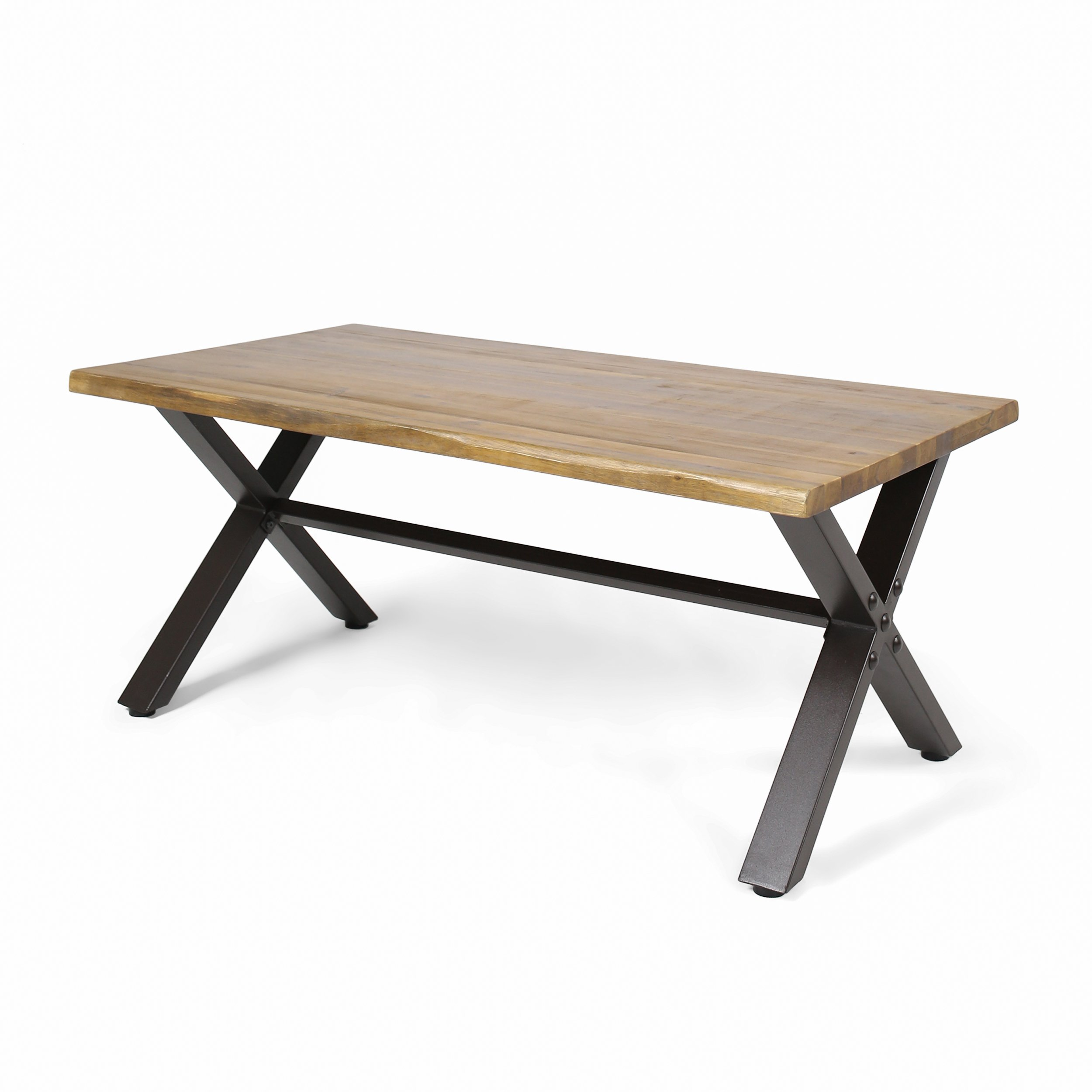 Christopher Knight Home Ishtar Outdoor Acacia Wood Coffee Table, Teak