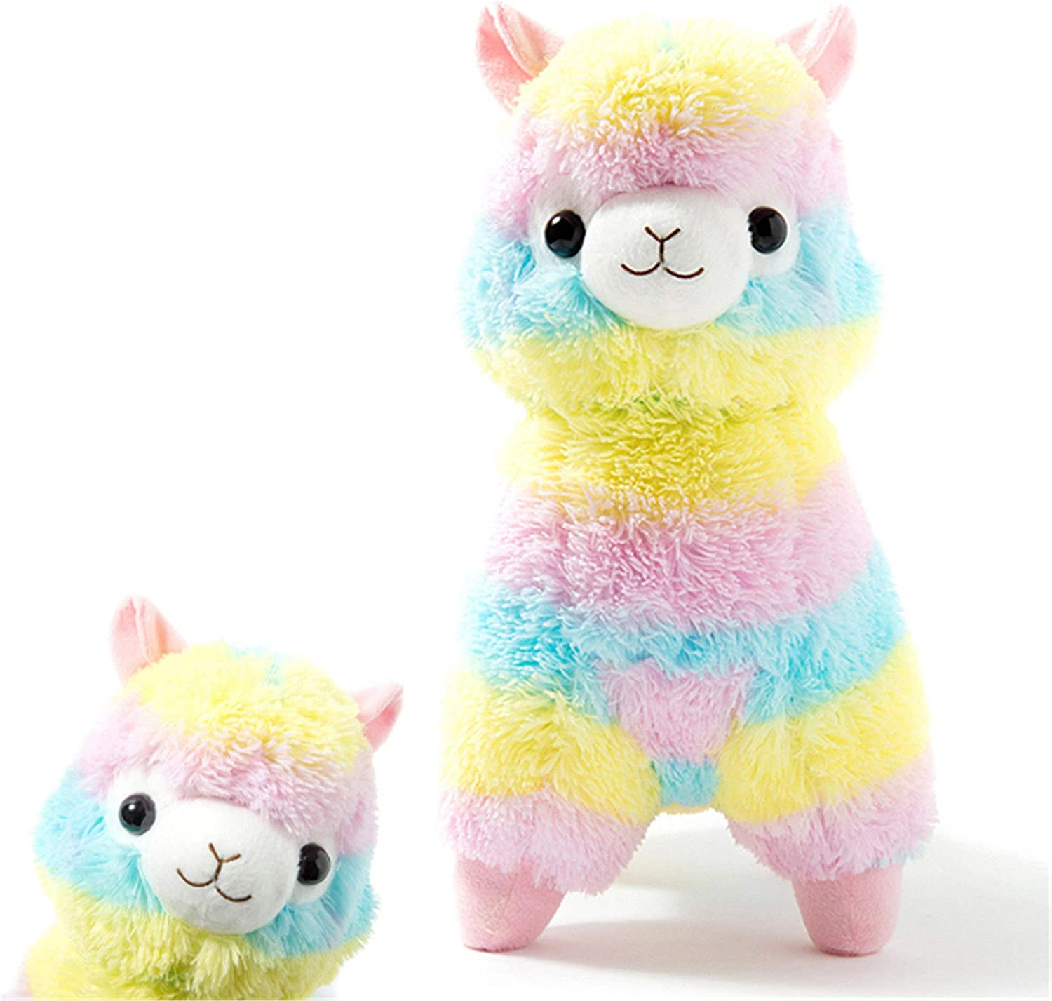 14/'/' 20/'/' Large Rainbow Alpacasso Kawaii Llama Plush Alpaca Animal Toy Doll Gift