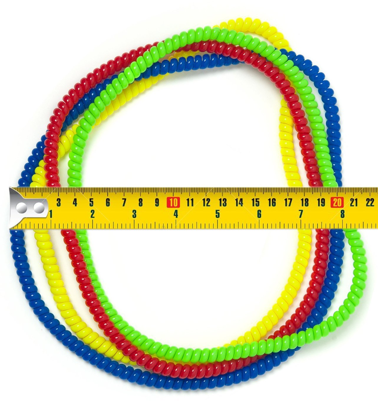 Chew Necklace Sensory Jewelry - Fun Sensory Motor Aid Chewelry for Boys & Girls with Autism ADHD & Sensory-Focused Needs - Oral Motor Chewing Biting Teething Help - Chewable Jewelry (8) by Everyday Educate (Image #6)