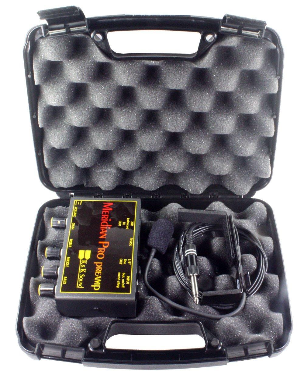 K&K Sound Meridian PRO External Guitar Microphone System w/Preamp