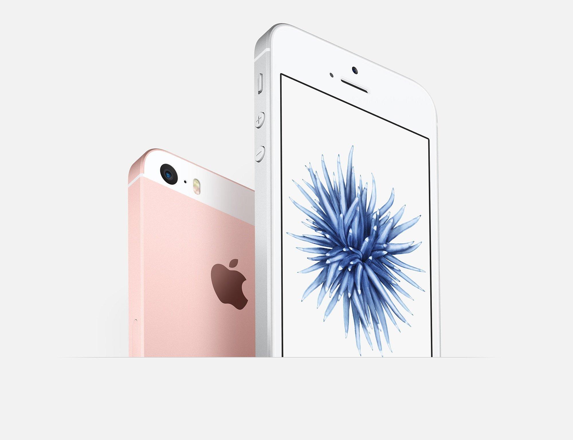 Apple iPhone SE Rose 16GB Smartphone Débloqué (Reconditionné)