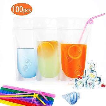 Amazon.com: TOPHOUSE - Bolsas para bebidas (100 unidades ...