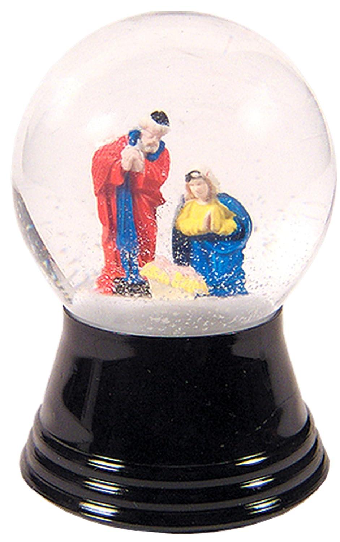 堅実な究極の Alexander Taronインポータpr1228 with 1.5 Perzy Decorative , Snowglobe with Small Holy Family , 2.75