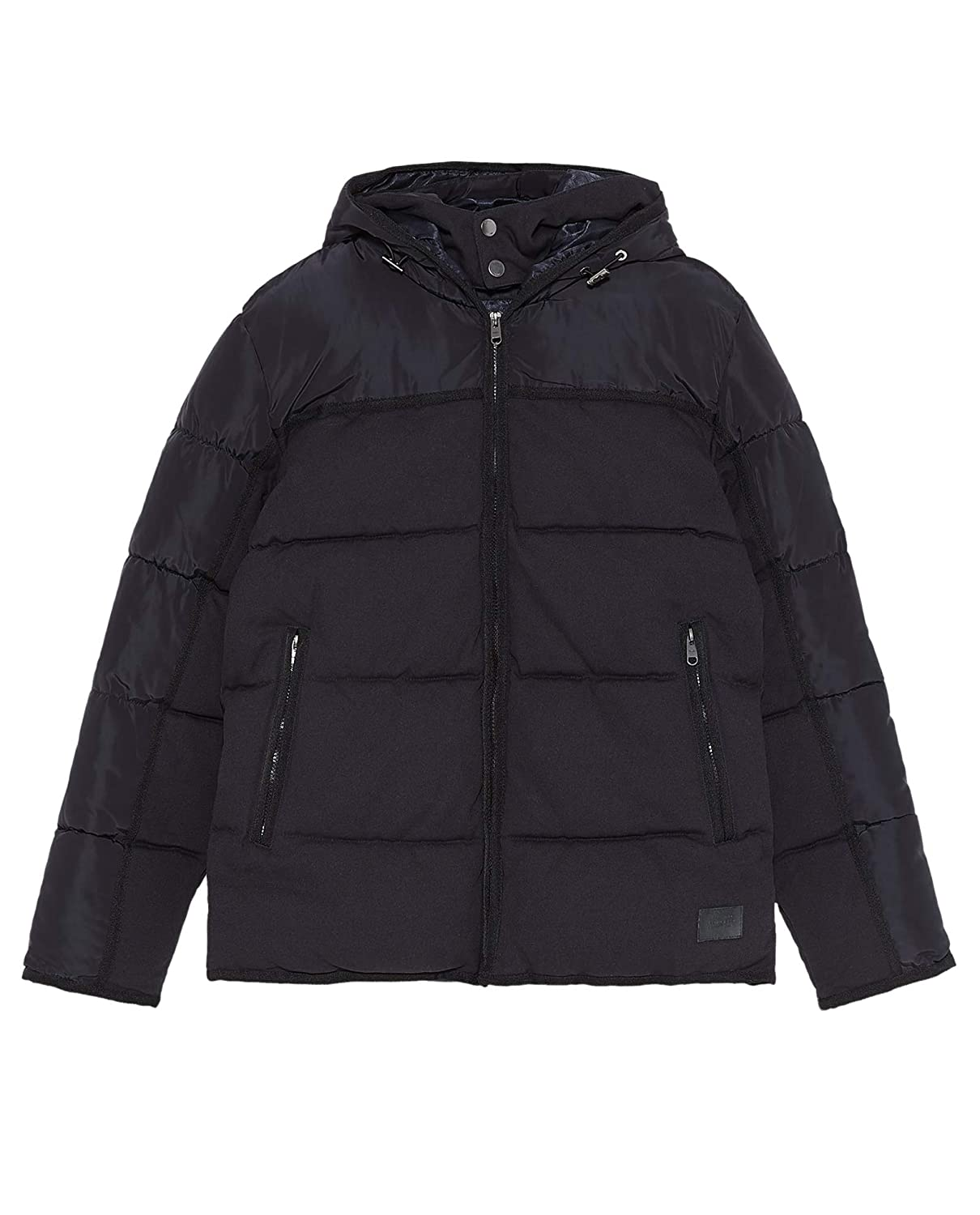 how to buy beautiful style hot-selling Zara Men Contrast Puffer Jacket 6985/308 at Amazon Men's ...