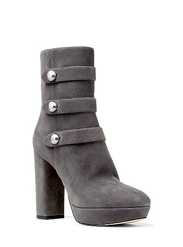 21fc08ad1c6 Femmes Michael Michael Kors Bottes Couleur Marron Charcoal Suede Taille  41.5 EU  Amazon.fr  Chaussures et Sacs