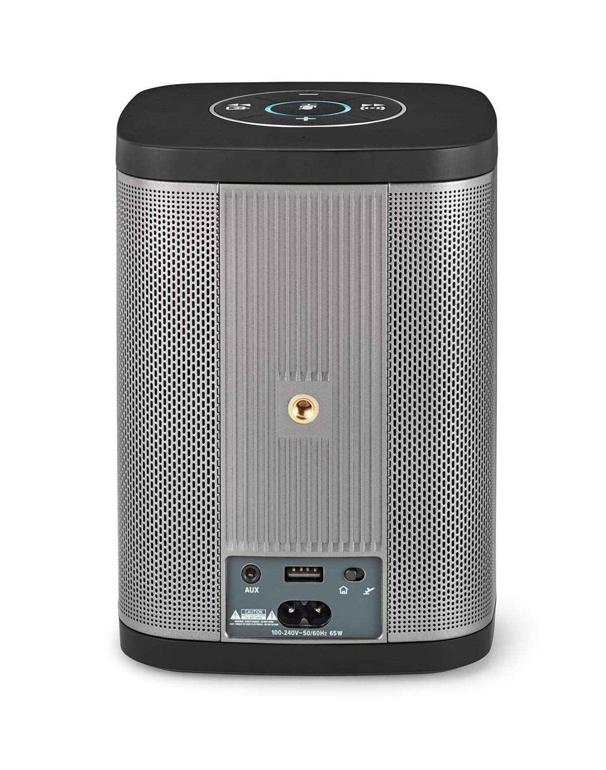 RIVA Concert with Alexa Built-in - Finally A Wireless Smart Speaker That Sounds Truly Amazing - WiFi, Airplay and Bluetooth Connectivity, Splash Resistant and Optional Battery (Black) by RIVA (Image #2)